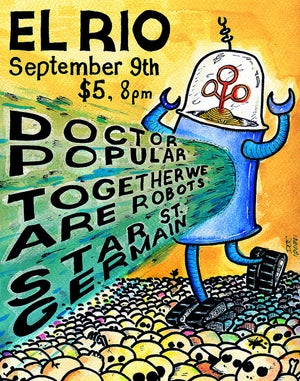 Chiptunes and cocktails at El Rio on 9/9!
