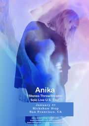 WIN: Anika, Chasms, and Spellling @ Rickshaw Stop