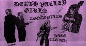 WIN: Death Valley Girls, Crocodiles @ The Chapel