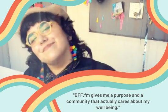 BFF.fm Impact Stories: Eddie