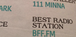 BFF.fm Voted Best of the Bay...Again!
