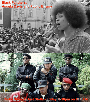 Black Panthers: Angela David + Public Enemy