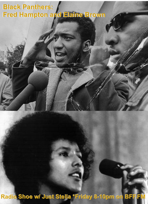 Black Panthers: Fred Hampton and Elaine Brown