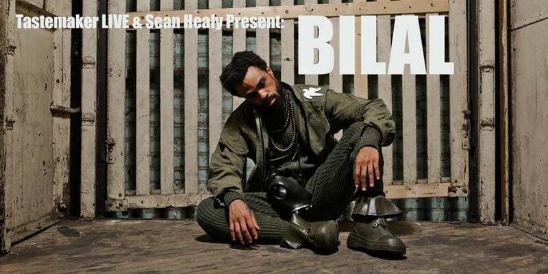 WIN: Bilal @ Starline Social Club