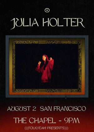 WIN: Julia Holter @ The Chapel
