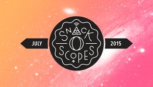 """FUTURE SO BRIGHT: July 2015 """"Snack-o-Scopes""""!"""