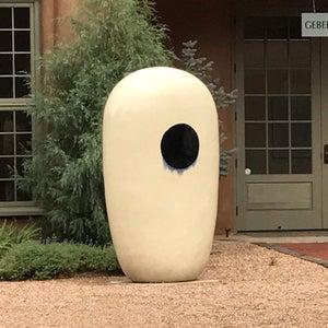 PR132 - White Obelisk, Black Dot