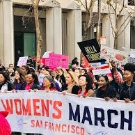 Bitch Talk at the San Francisco Women's March and Rally