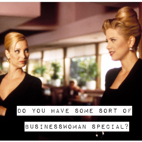 The Businesswoman Special