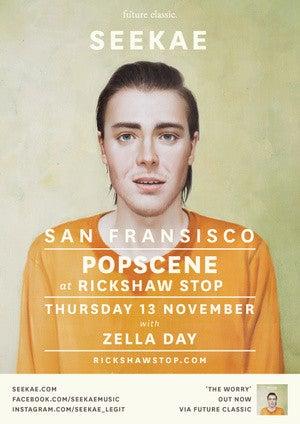 Seekae & Zella Day @ Rickshaw Stop (Popscene)