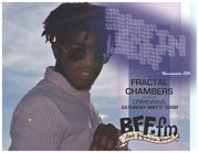 Alt-RnB Artist Surfin Serf on Fractal Chambers, 5/21 @10am